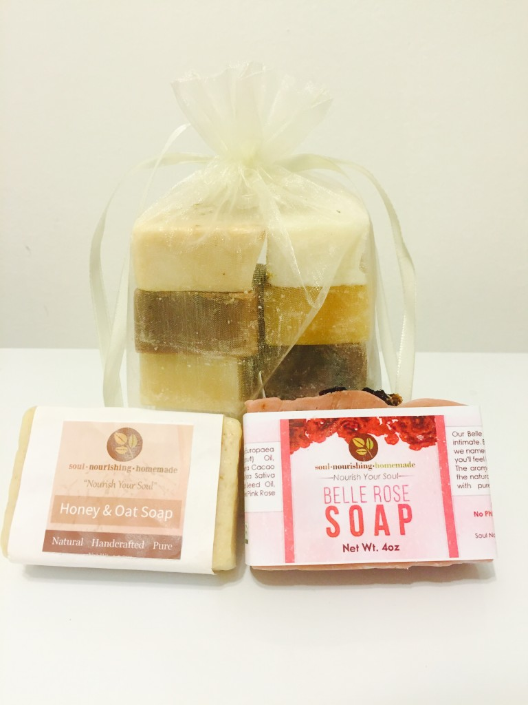 Homemade Natural Soaps Beauty Products
