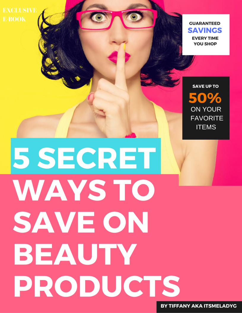 5 secret ways beauty products e book