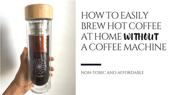 how to make coffee at home without machine
