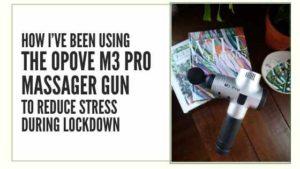 opove m3 pro massager gun