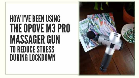 review opove m3 pro massager gun