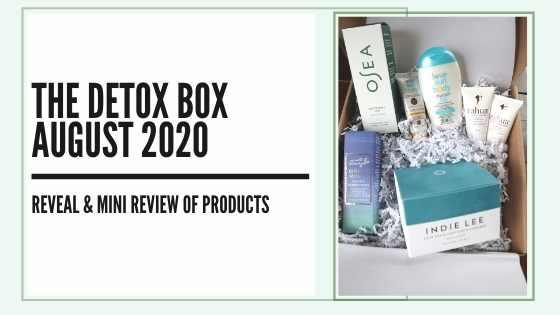 august 2020 detox box review